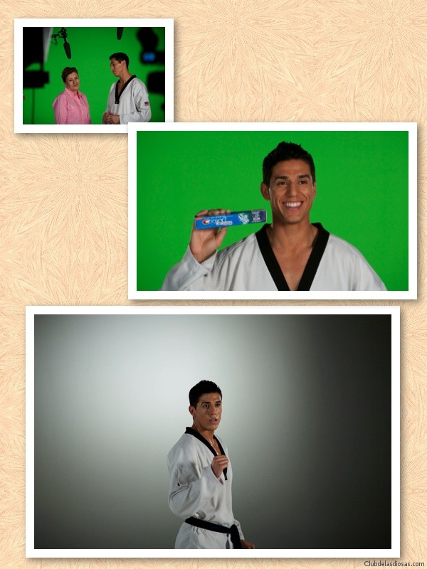 Olympic  medalist  Steven Lopez during a photo shoot in  Woodland Hills, California Friday, 16 March 2012.