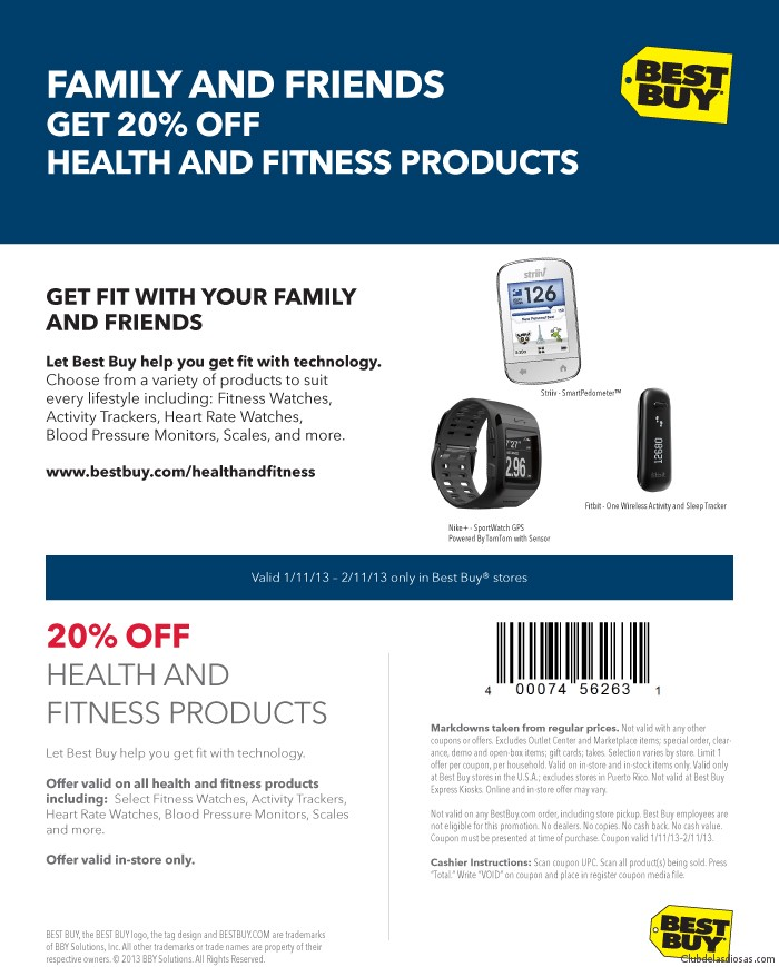 Best Buy health-coupon