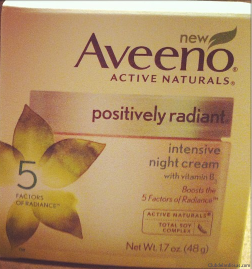 AVEENO® POSITVELY RADIANT® Intensive Night Cream